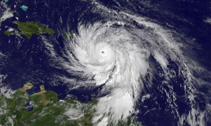 hurricane maria satellite
